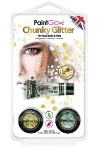 Chunky Glitters Sparkle Gold / Silver
