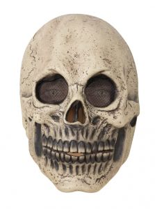 Masker Cracked Skull Latex