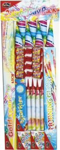 Vuurwerk Junior Colourful Day Pack